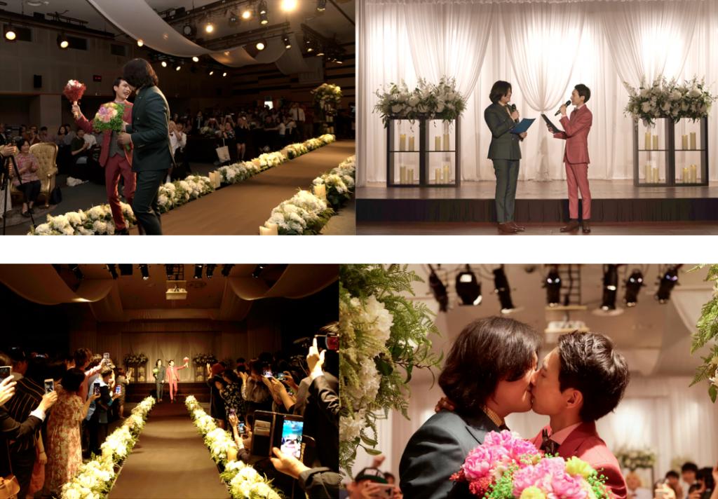 소소한 결혼식의 순간들